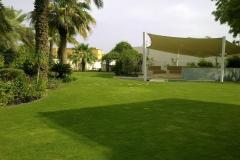 lawn private villa