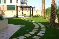 Villa-walkway