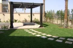 Villa-walkway & gazebo