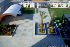 landscape design bird view