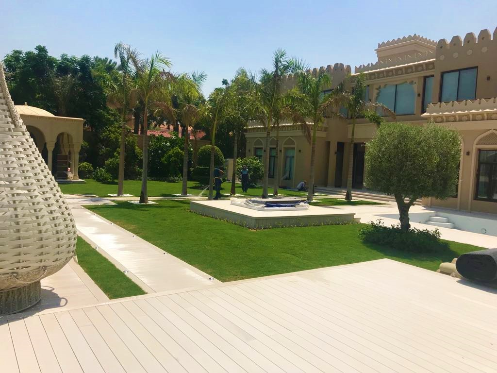 Palm Jumeira Villa landscape Project
