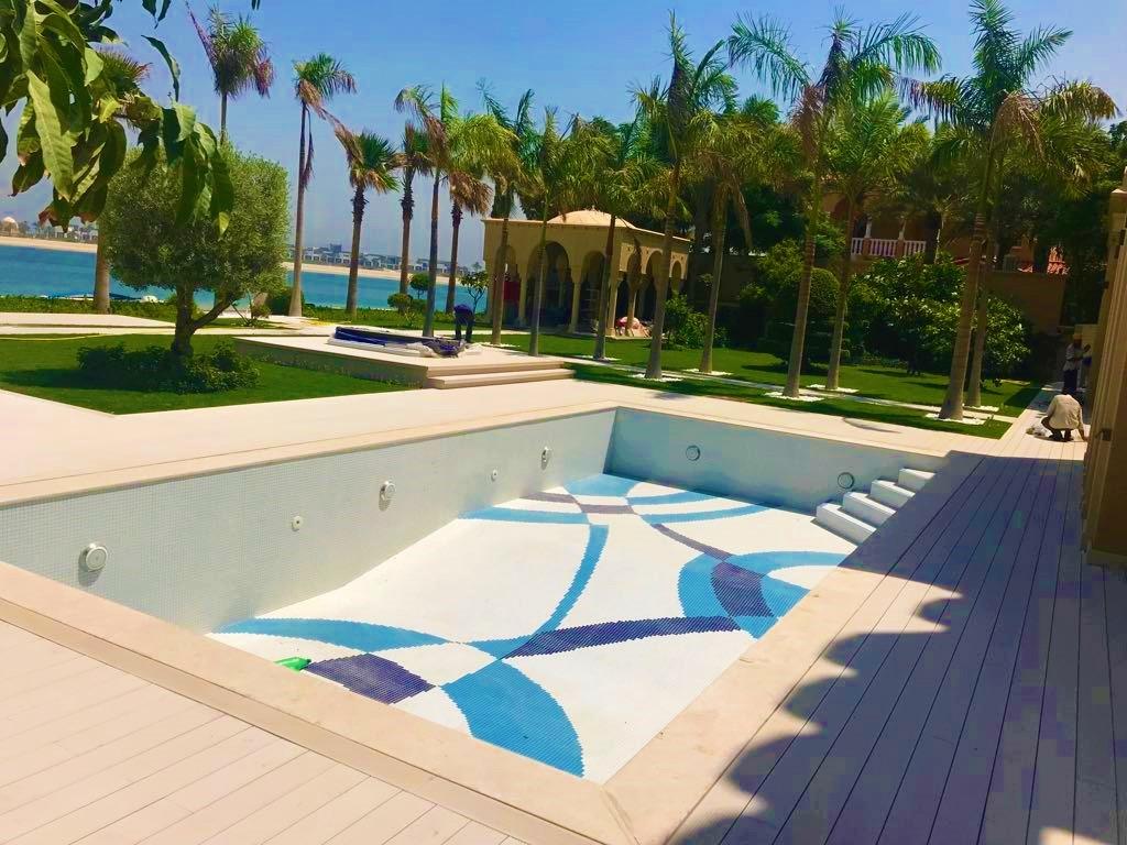 Palm Jumeira Villa swimming pool