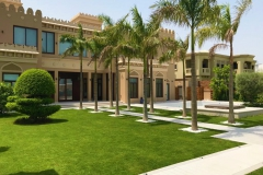 Palm Jumeira Villa  exterior and front lawn