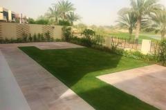 Villa-lawn