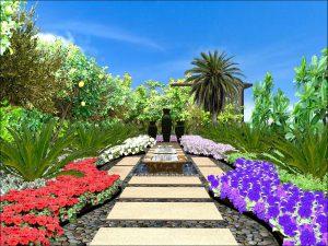 Design of garden