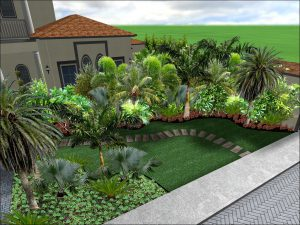 design of tropical garden