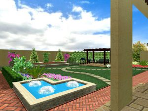 blue bird landscape design